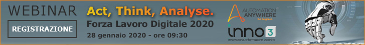 Webinar: Act, Think, Analyse. Forza Lavoro Digitale 2020