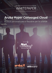 Aruba Hyper Converged Cloud: il Cloud personalizzato e flessibile per le aziende